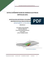 Geofisica Sondeos Electricos Verticales