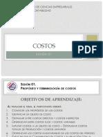 Costos I -Sesión 01 - Propósitos & Terminología de Costos