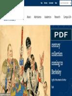 Major 20th Century Art Collection Coming to Berkeley | University of California Berkeley Homepage