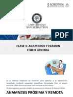 Anamnesis y Ex Fisico