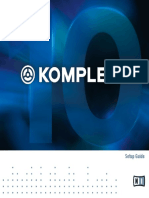 KOMPLETE 10 Setup Guide English