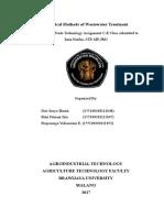 Makalah Chemical Method of Wastewater Treatment (Salinan Berkonflik Lenovo 2017-03-22)