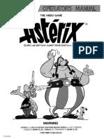 Asterix, 1992, Operator's Manual