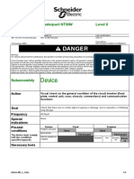 Masterpact Maintenance Procedure