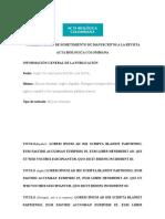 Acta Biológica -document