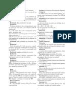 Resumen de postulados principales de Geometría según Moise Downs