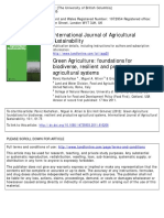 International Journal of Agricultural Sustainability Volume 10 Issue 1 2012