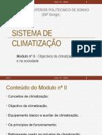 Modulo II- Objectivo de Climatização