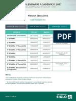 2017 Calendario Academico Mod Online