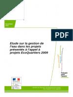 Rapport Definitif Etude Eau EQ2009- Novembre 2011