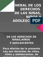 Conferencia Derechos de Niuñas, Niños y Adolescentes.