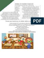 Entrevista y Encuesta Docentes y Estudiantes Montse Jhaely Karla Mari