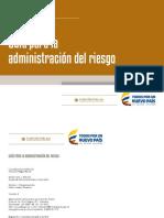 Guía Para La Administración Del Riesgo