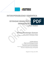 Analisis Estandar Semantico Dispositivos Medicos