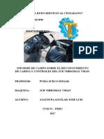Informe de Campo Sobre Cabina