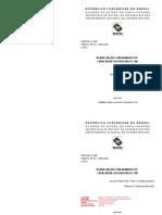RODOVIA SC 486 - Trecho BR 101 Brusque Projeto Executivo Volume 2.1