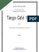 Piazzolla Cafe 1930 Para Cello y Cuerdas Score[1]