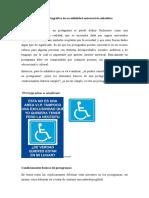 Análisis Pictográfico de Accesibilidad Universal de Señalética