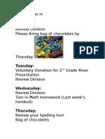 homework week 30 april 3 2017