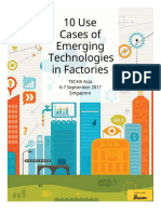 10 Use Cases of Emerging Technologies in Factories