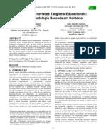 Design de Interfaces Tangíveis Educacionais uma Metodologia Baseada em Contexto