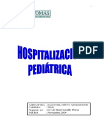 Hospitalizacion Pediatrica Ren#u00e9 Castillo Flores