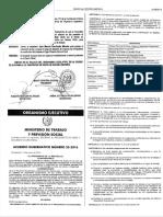 Acdo. Gub. 33-2016 Reformas Reglamento SSO