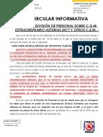 Reunión Previa CGM Comisisiones de Servicio Asturias