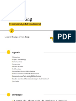 Data Mining Convencional e Multirrelacional