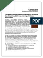 USA ASB Press Release