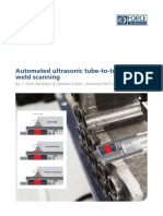 White Paper Automated Ultrasonic Inspection of Tube to Tube Sheet Welds