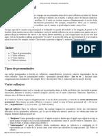 Verbo Pronominal - Wikipedia, La Enciclopedia Libre