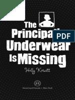 The Principal's Underwear is Missing Excerpt