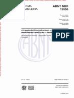 NBR 12655 - Preparo, controle e recebimento