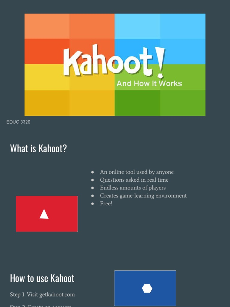 kahoot presentation 1 1