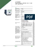 Contactor Ac3 9a