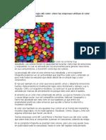 Infografías La Psicología Del Color