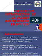 Plan de Introduccion Vacuna ANC LA PAZ