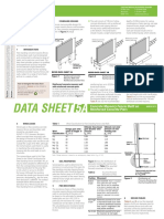 CMAA Datasheet 5A Fences on Reinforced Concrete Piers