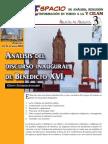 Analisis Discurso Benedicto XVI