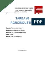 Agroindustria Alimentaria y No Alimentaria