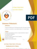 DERECHO TRIBUTARIO I (CÓDIGO TRIBUTARIO) - Semana2