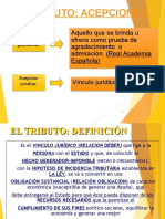 DERECHO TRIBUTARIO I (CÓDIGO TRIBUTARIO) -TRIBUTO