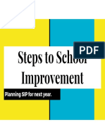 steps to school improvement