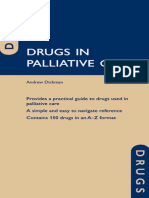 (Oxford Medical Publications) Andrew Dickman - Drugs in Palliative Care - Oxford University Press (2010)