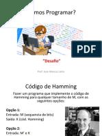 Hamming Programação