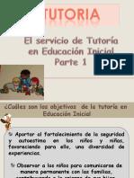 El Servicio de Tutoria en Educacion Inicial Parte 1