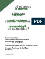 Documento Sobre Sexual Id Ad Humana