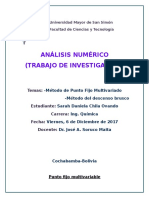 Metodo Punto Fijo Multivariable