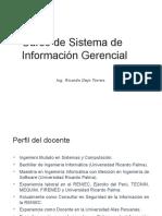 Sesión 1. SISTEMA DE INFORMACIÓN GERENCIAL